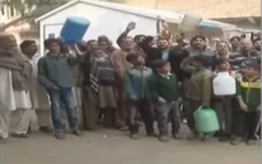 سمن آباد: جناح کالونی میں واٹر فلٹریشن پلانٹ بند،شہری سراپا احتجاج
