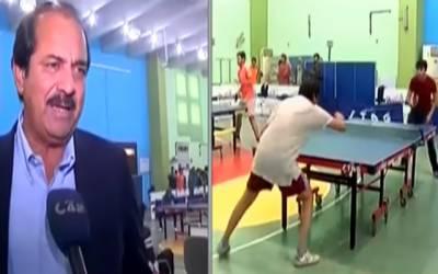 پنجاب کی ٹیبل ٹینس ٹیم کے انتخاب کے سلسلے میں ٹرائلزکا اہتمام