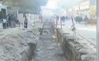 پنجاب ایجوکیشن کمپلیکس میں تعمیراتی کام، افسران غائب