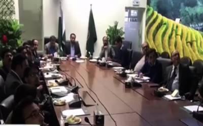 خواجہ عمران نذیر کی زیر صدارت سوائن فلو کی روک تھام کیلئے اجلاس