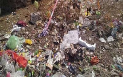 ٹاؤن شپ: کچرے کے ڈھیر سے نومولو د کی لاش برآمد