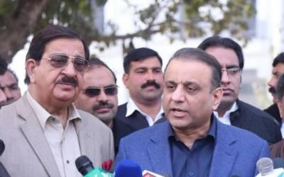 حکومت کے پاس اقتدار میں رہنے کا کوئی آئینی جواز نہیں ہے:عبدالعلیم خان