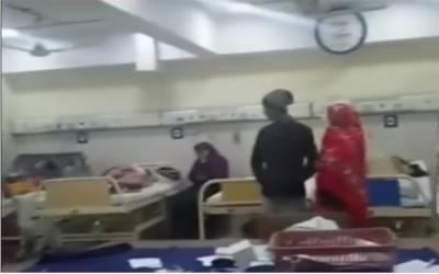 سروسز ہسپتال میں ڈاکٹر اور مریض کےلواحقین میں جھگڑا