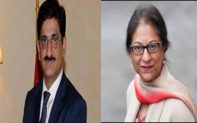 وزیراعلی سندھ کا عاصمہ جہانگیر کی سرکاری اعزاز کے ساتھ تدفین کرنے کا مطالبہ