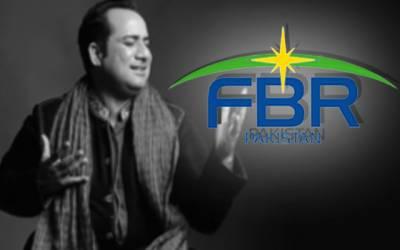 گلوکار راحت فتح علی خان ایک بار پھر ایف بی آر کے ریڈار میں آگئے