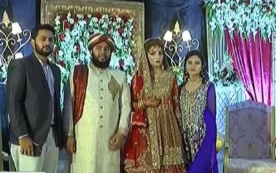 وزیر اعلیٰ پنجاب کے داماد عمران کی بھتیجی رشتہ ازدواج میں منسلک ہوگئیں