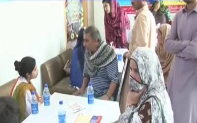 محمد علی جناح میڈیکل کمپلیکس میں مدرزڈے پرنیوٹریشن کیمپ کا انعقاد