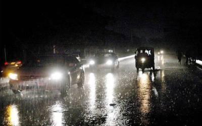 شہر بھر میں بارش، موسم خوشگوار ہوگیا
