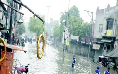 بارش نے تمام محکموں کی کارکردگی کا پول کھول دیا
