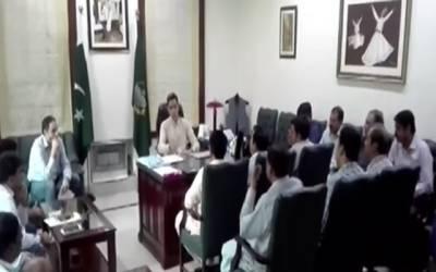 ڈپٹی کمشنرلاہور کا الیکشن کمیشن کے ضابطہ اخلاق پرعمل درآمد کیلئے اجلاس