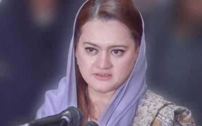 اشتہارات کی بجائے عمران خان کی زبان پر پابندی لگائی جائے: مریم اورنگزیب