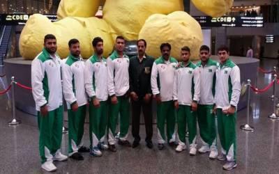 پاکستان کی چاررکنی جونیئرریسلنگ ٹیم بھارت روانہ