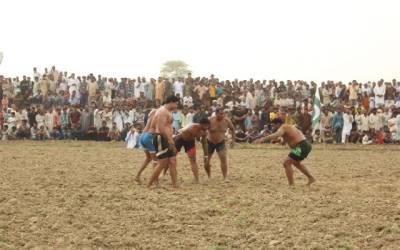 کبڈی میچ میں پاکستان بلیوز نے پاکستان گرین کو دو پوائنٹس سے شکست دے دی