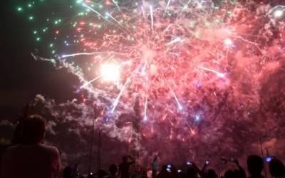 یوم آزادی،سرکاری اداروں میں شاندار تقریبات کا انعقاد