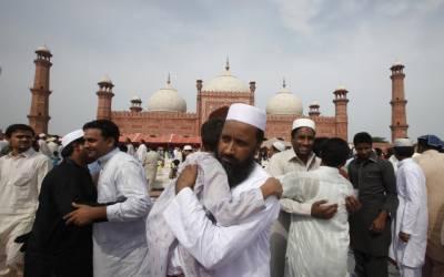 لاہور سمیت ملک بھر میں عیدالاضحیٰ مذہبی عقیدت و احترام سے منائی جارہی ہے