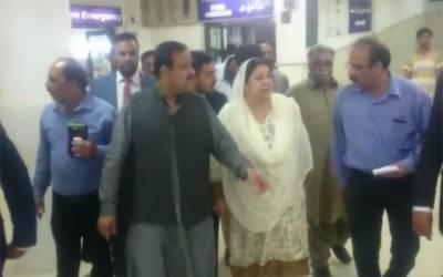 وزیراعلیٰ پنجاب کا بغیر پروٹوکول جنرل ہسپتال کا دورہ