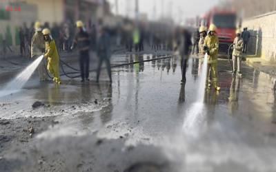 صاف پانی سے سڑکوں کی دھلائی کا کیس، ایم ڈی واسا اور ایل ڈبلیو ایم سی کی شامت آگئی