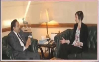 چیف سیکرٹری پنجاب کی امریکی قونصل جنرل سے ملاقات
