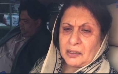 ن لیگ کی سینیئر رہنما تہمینہ دولتانہ آبدیدہ ہو گئیں