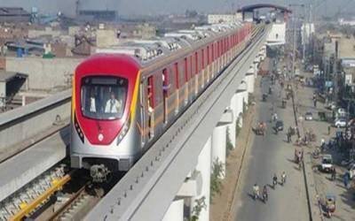 لاہوریوں کیلئے بڑی خبر، اورنج لائن میٹرو ٹرین منصوبہ کی تکمیل کا فیصلہ