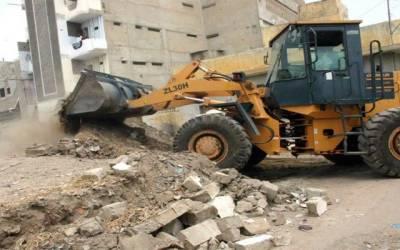 تجاوزات کیخلاف آپریشن میں135 کنال اراضی واگزار کروالی گئی