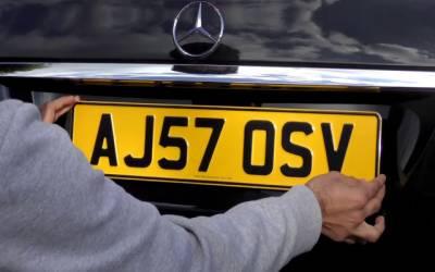 گاڑیوں کی نمبرپلیٹس کا سائزاورڈیزائن بدلنے کا فیصلہ