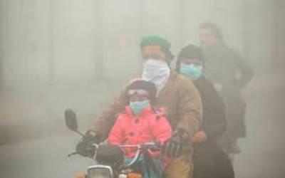 خشک سردی اور سموگ کے باعث لاہور میں بیماریاں پھیلنے لگیں