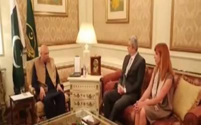 گورنر پنجاب سے بلجیئم کے سفیر کی ملاقات