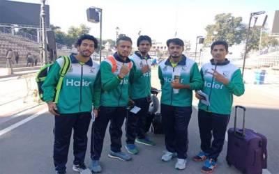 ہاکی ورلڈ کپ، جیت کا عزم لیےقومی ہاکی ٹیم بھارت روانہ