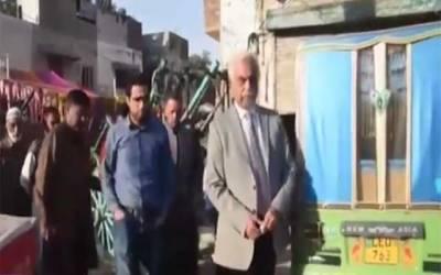 لارڈ میئر لاہور کا قبضہ مافیا سے واگزار کرائے گئے پلاٹس کا دورہ