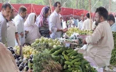 سستے اتوار بازار میں اشیائے خورونوش کی قیمتوں میں ہوشربا اضافہ