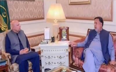 گورنر پنجاب سے صوبائی وزیر ہاؤسنگ کی ملاقات