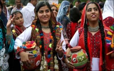 سندھی ثقافت کی مناسبت سے تقریب