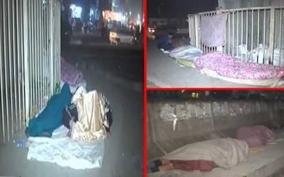 بے گھر ،بے آسرا افراد نے حکومت سے اہم مطالبہ کردیا