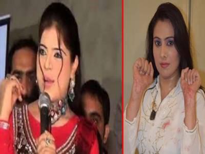 سٹیج اداکارہ پائل چوہدری اور شانزہ کو وارننگ نوٹسز جاری