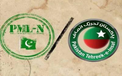 تحریک انصاف نے پنجاب میں ن لیگ کی بڑی وکٹیں گرا دیں