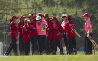 بلائنڈ ویمن کرکٹ کی پہلےانٹرنیشنل میچ میں نیپال کی پاکستان کو دس وکٹوں سے شکست