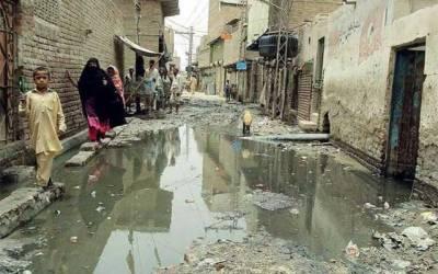 واسا کی غفلت، گلیاں پانی میں ڈوب گئیں
