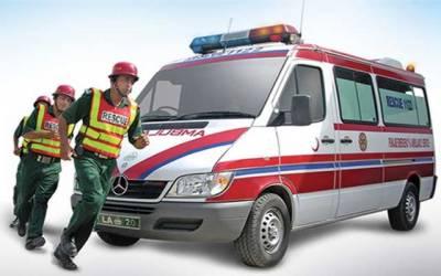 ایمبولینسوں میں جی پی ایس ٹریکنگ ڈیوائس نصب کرنے کا فیصلہ