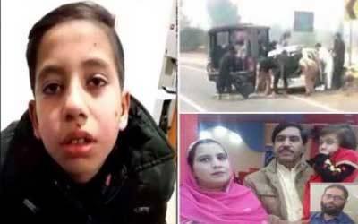 سانحہ ساہیوال کے متاثرہ بچے کا بیان ریکارڈ، دل دہلا دینے والے انکشافات