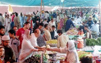 اتوار بازاروں میں دکانداروں کی من مانیاں عروج پر