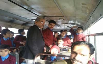 خصوصی بچوں کیلئے بس سروس منصوبہ حکومتی نااہلی کی نذر