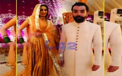 معروف اداکارہ وماڈل ایمان علی دلہن بن گئیں