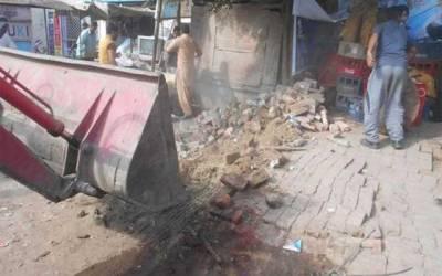 ضلع انتظامیہ کا انسداد تجاوزات و قبضہ مافیا کیخلاف آپریشن