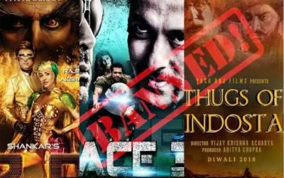 پاکستان میں بھارتی فلموں کی نمائش پر پابندی لگا دی گئی