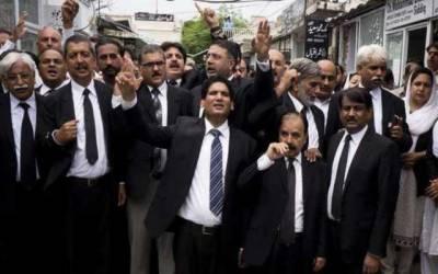 نئی جوڈیشنل پالیسی کیخلاف پنجاب بھر میں وکلاء کی ہڑتال
