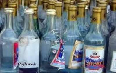 ڈپٹی کمشنر آفس کی حدود میں موجود پارکوں سے شراب کی بوتلیں برآمد