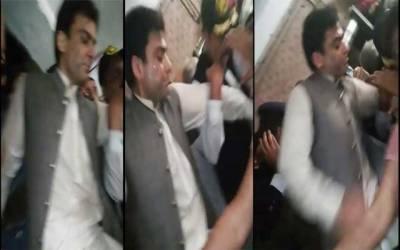 حمزہ شہباز شریف سیڑھیوں سے گر گئے