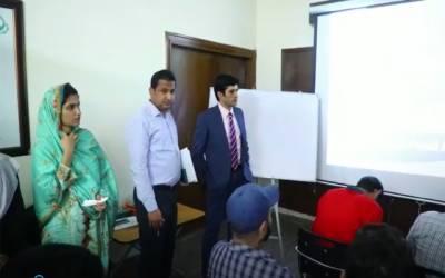 ڈی جی فوڈ اتھارٹی کا پی ایف اے ٹریننگ سکول کا دورہ