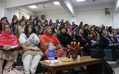 خواتین کو درپیش مسائل کے حوالے سے تربیتی ورکشاپ کا اہتمام
